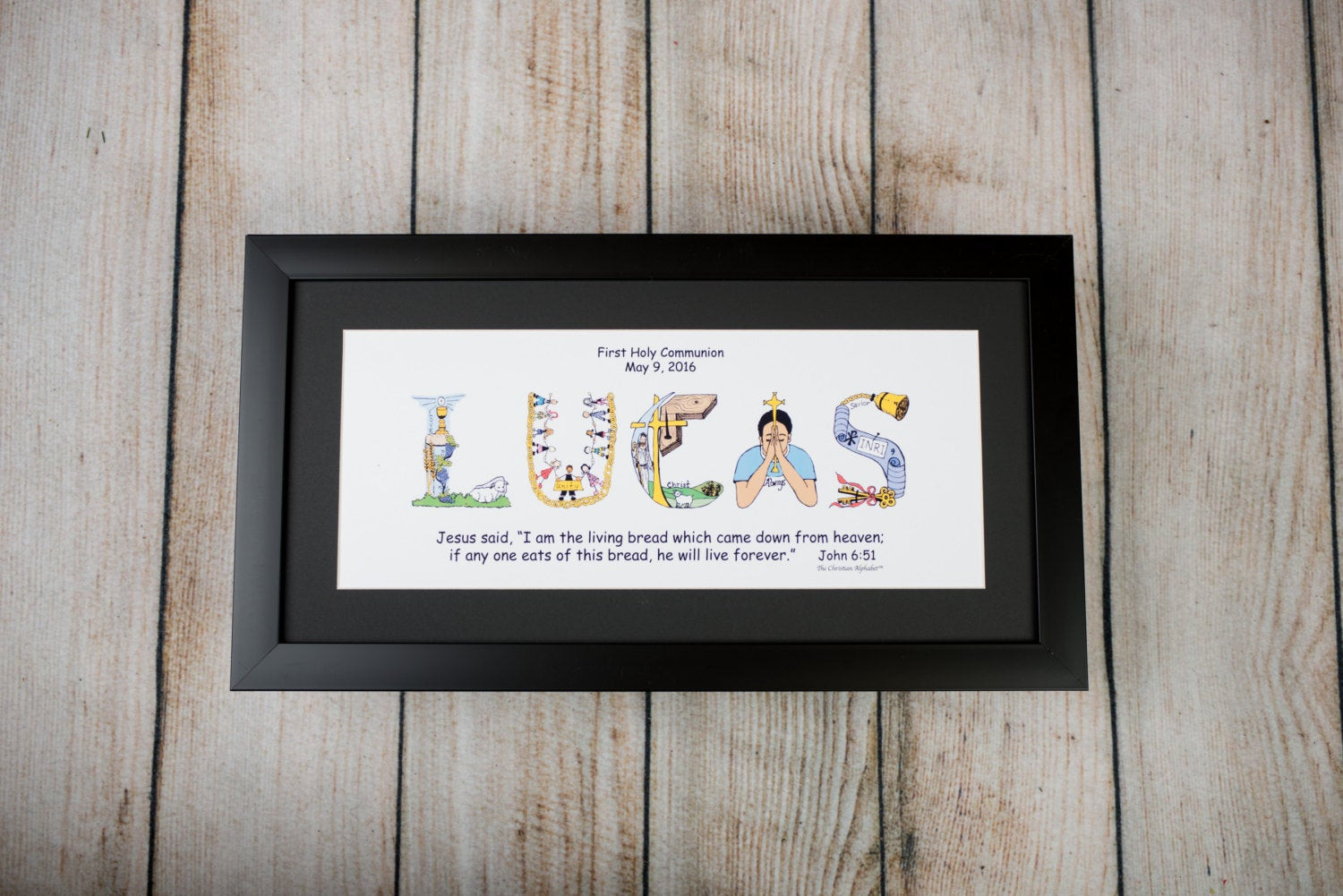 First Communion Gift Ideas For Girls  Personalized First munion Gift for Boys and Girls with