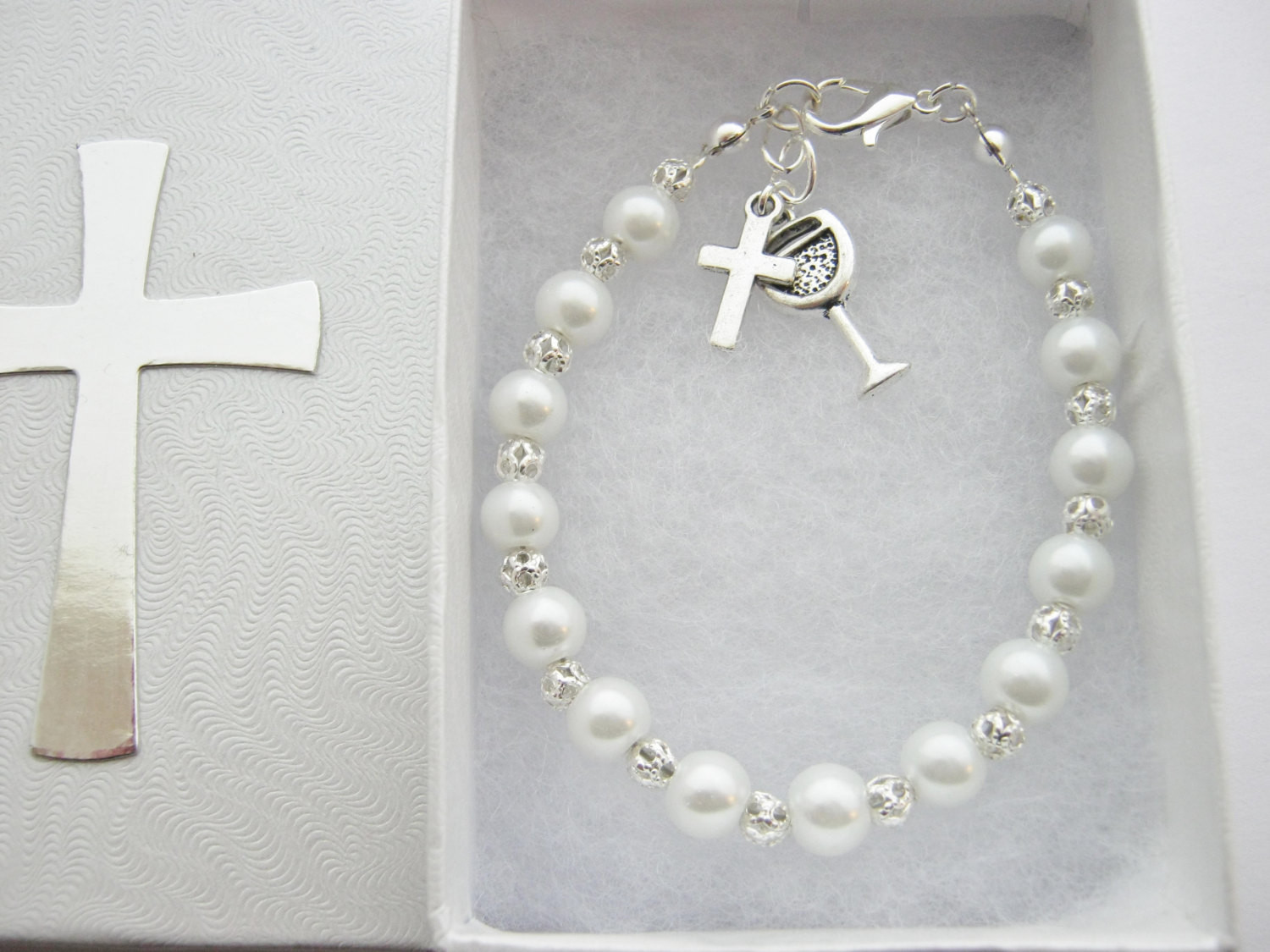 First Communion Gift Ideas For Girls  First Holy munion Bracelet First munion Gifts Girls