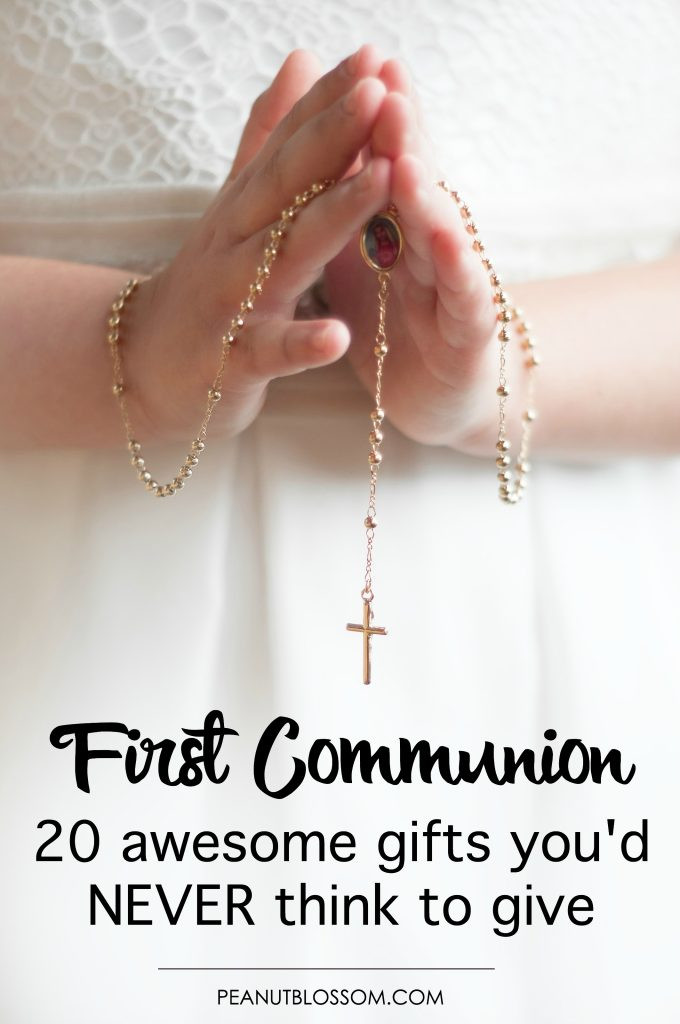 First Communion Gift Ideas For Girls  20 First munion ts you d never think to give