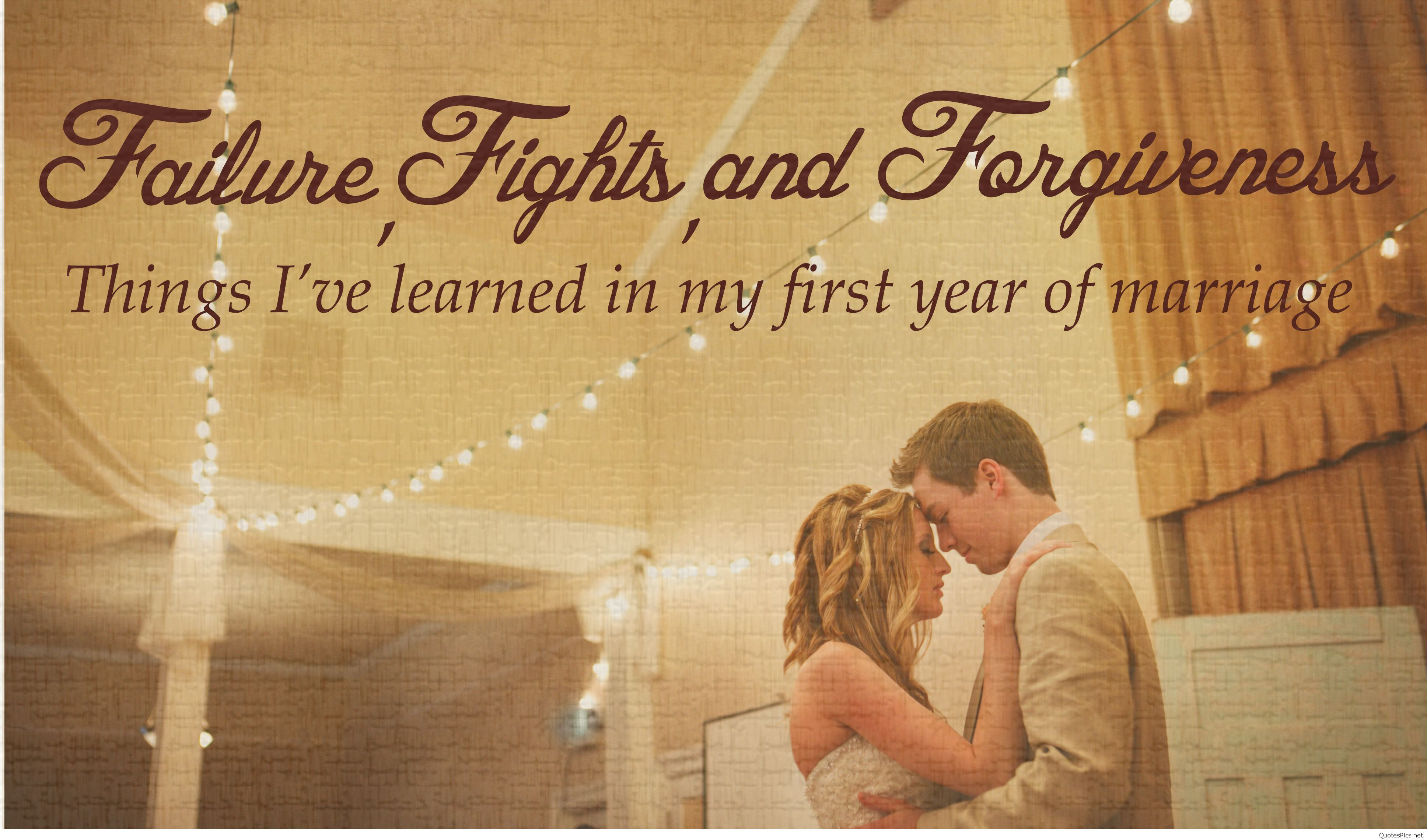 First Year Of Marriage Quotes  Happy marriage anniversary cards sayings quotes 2017 images