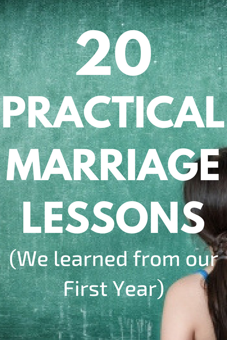 First Year Of Marriage Quotes  20 Marriage Lessons We Learned From Our First Year of Marriage