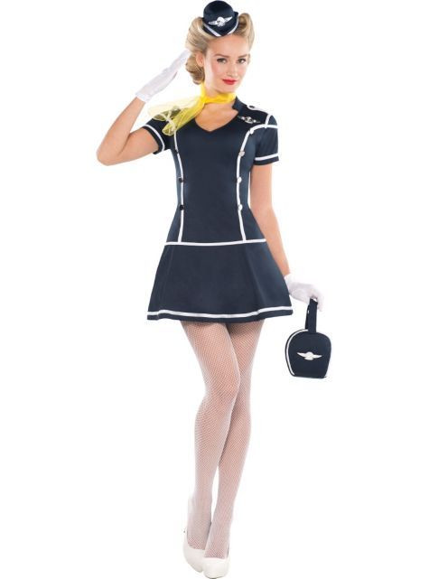 Flight Attendant Costumes DIY  169 best Air Hostess Flight Attendant images on