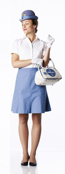 Flight Attendant Costumes DIY  Make your own PanAm Flight Attendant Costume