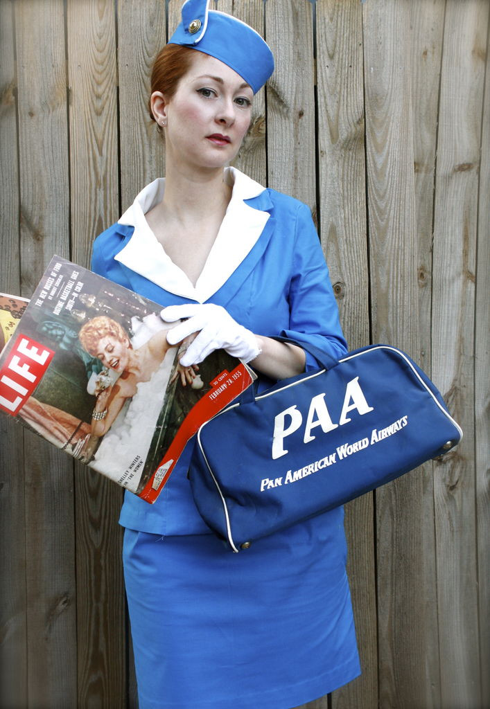 Flight Attendant Costumes DIY  Halloween costumes for moms