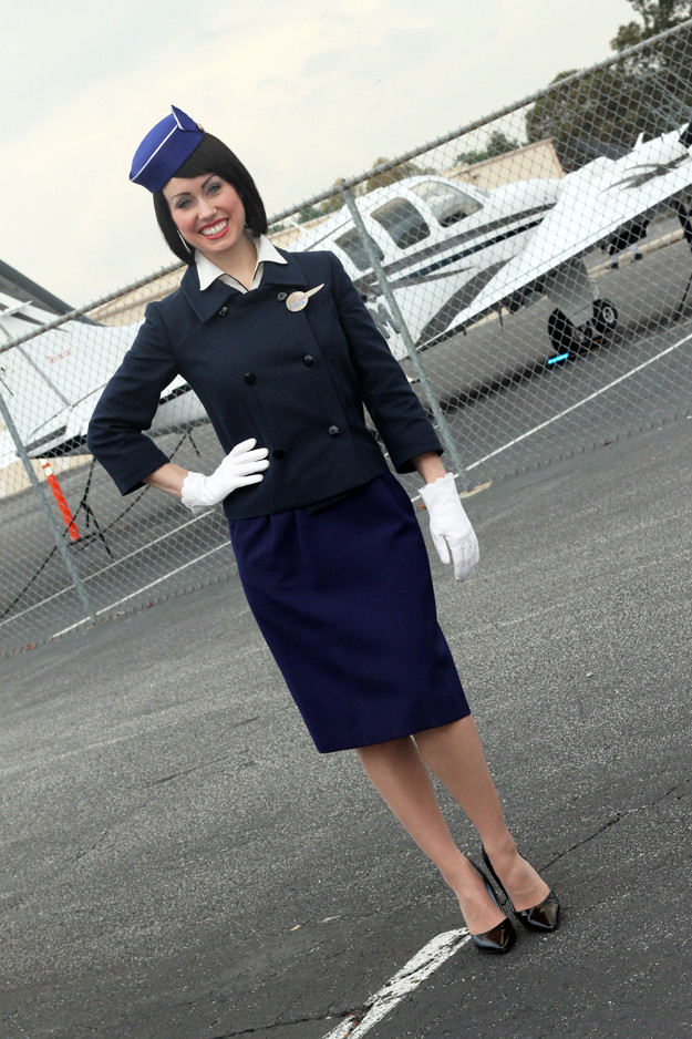 Flight Attendant Costumes DIY  The Dapper Bun DIY Style How To Make A 1963 Pan Am