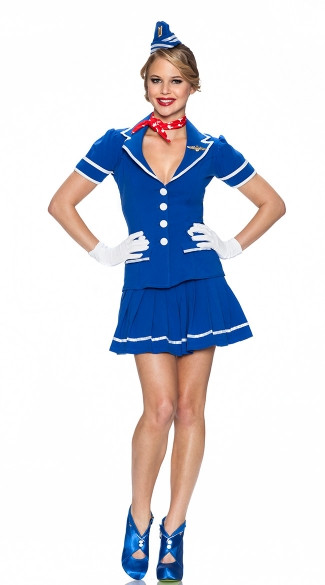 Flight Attendant Costumes DIY  flight attendant costume diy Do It Your Self