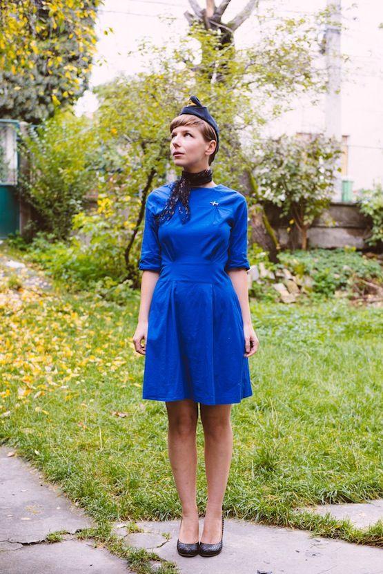 Flight Attendant Costumes DIY  DIY Flight Attendant Costume