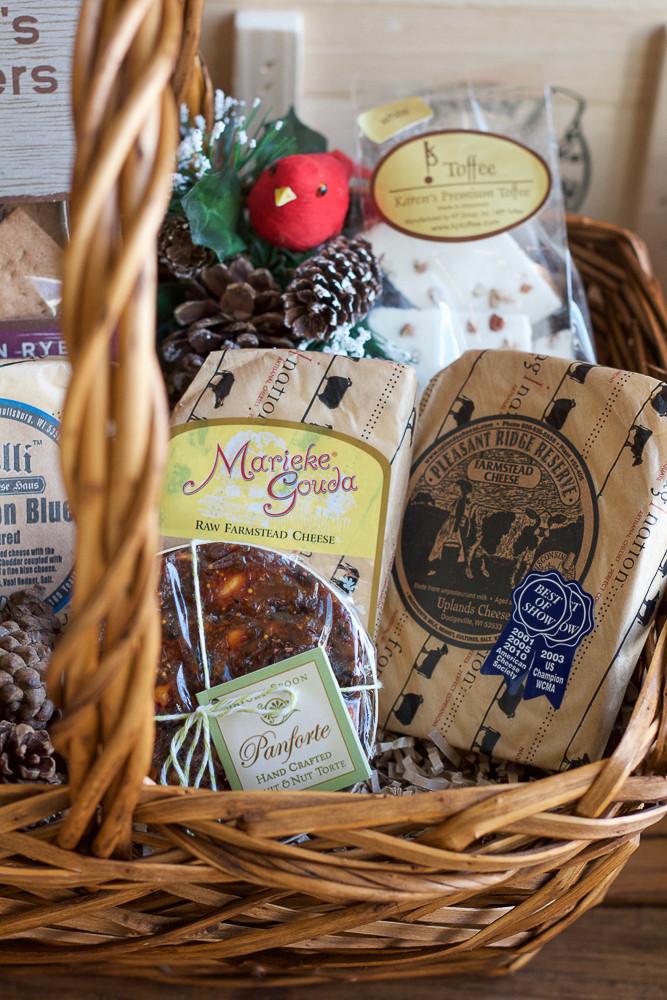 Food Gift Baskets Ideas  DIY Food Gift Baskets