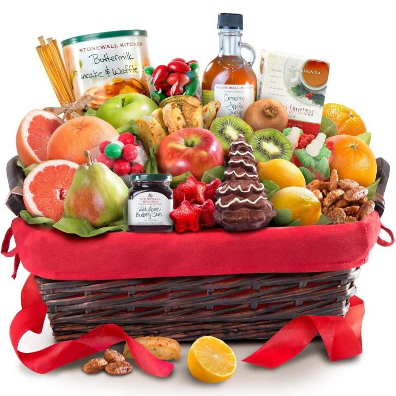 Food Gift Baskets Ideas  Top 10 Best Breakfast Gift Baskets for Christmas 2017