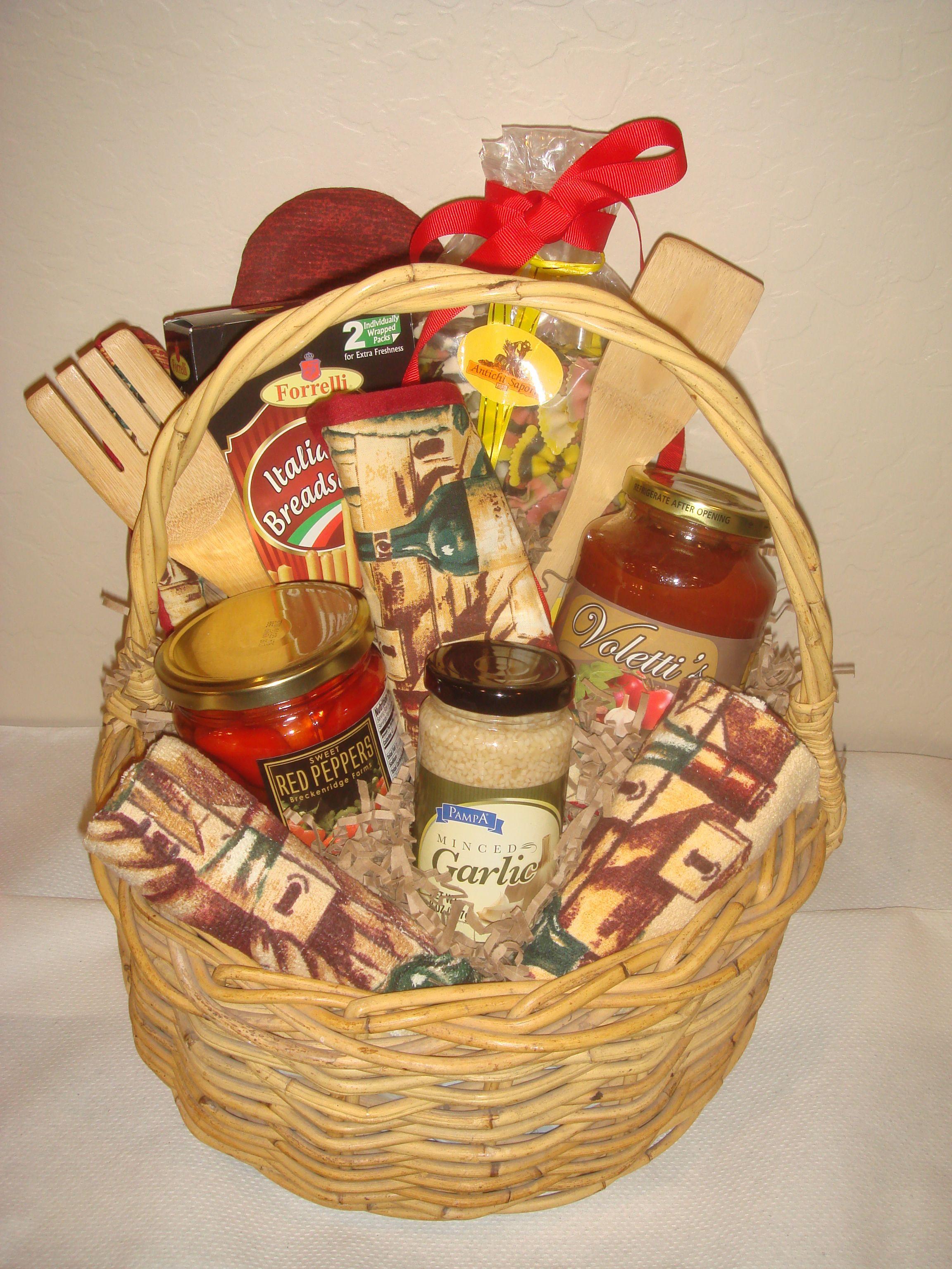 Food Gift Baskets Ideas  Italian Gift Basket