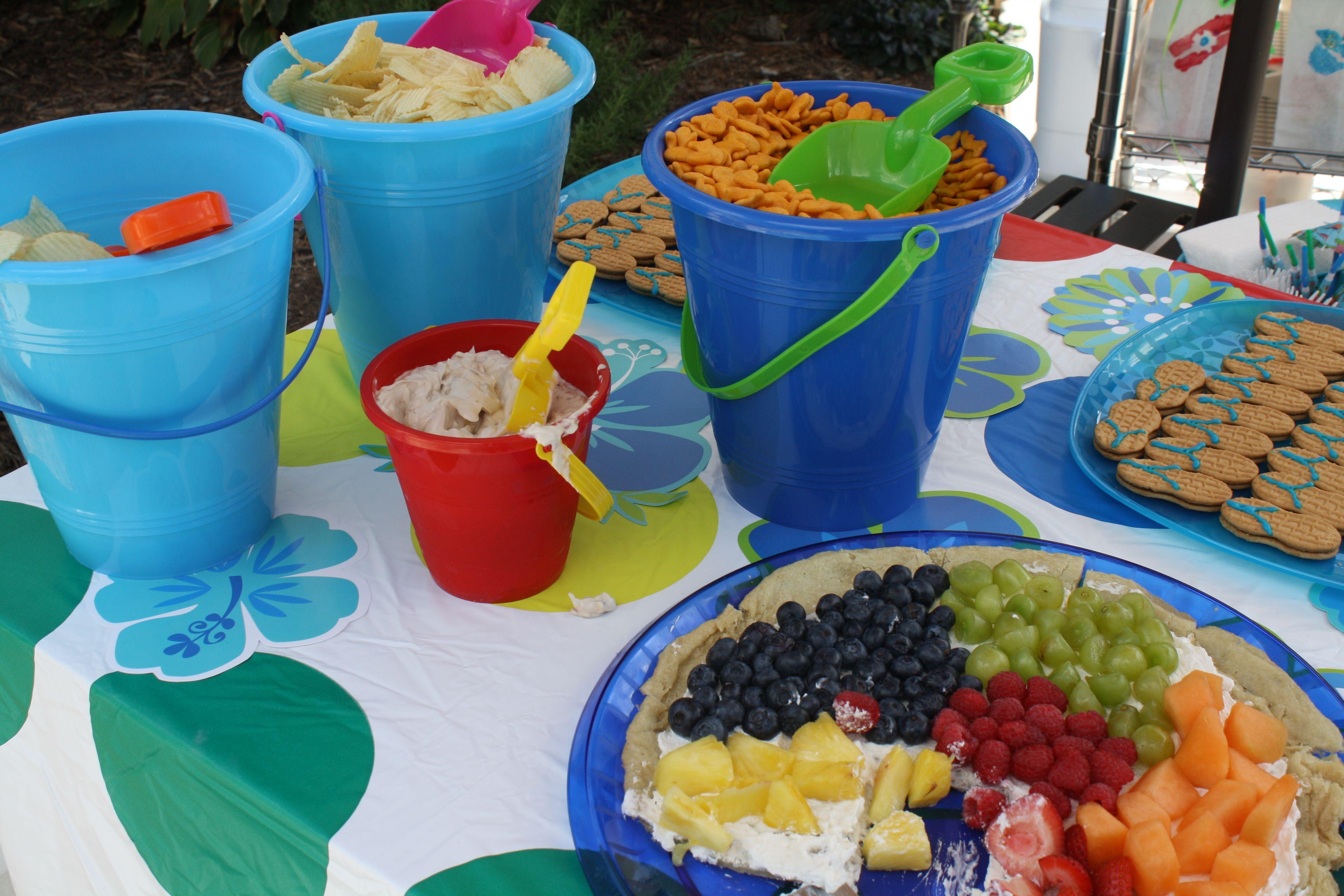Food Ideas For Pool Party  Pool party food fun bucket idea Good Food