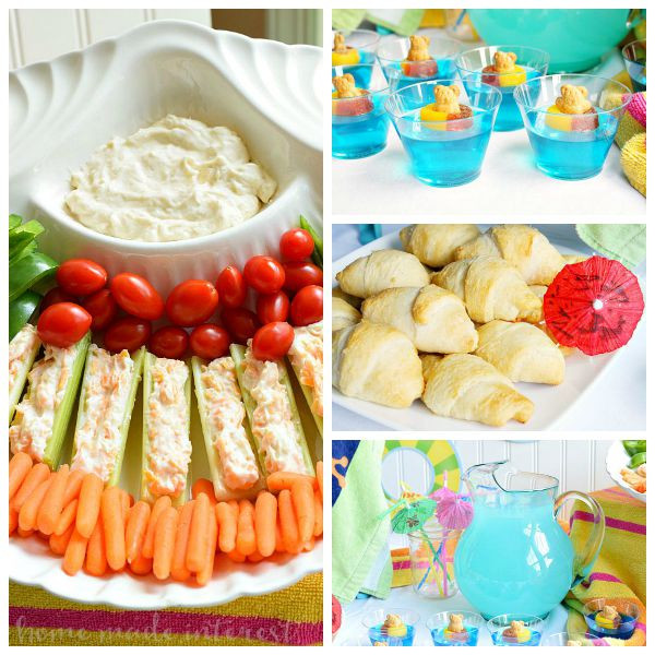 Food Ideas For Pool Party  Take a Dip Pool Party Home Made Interest