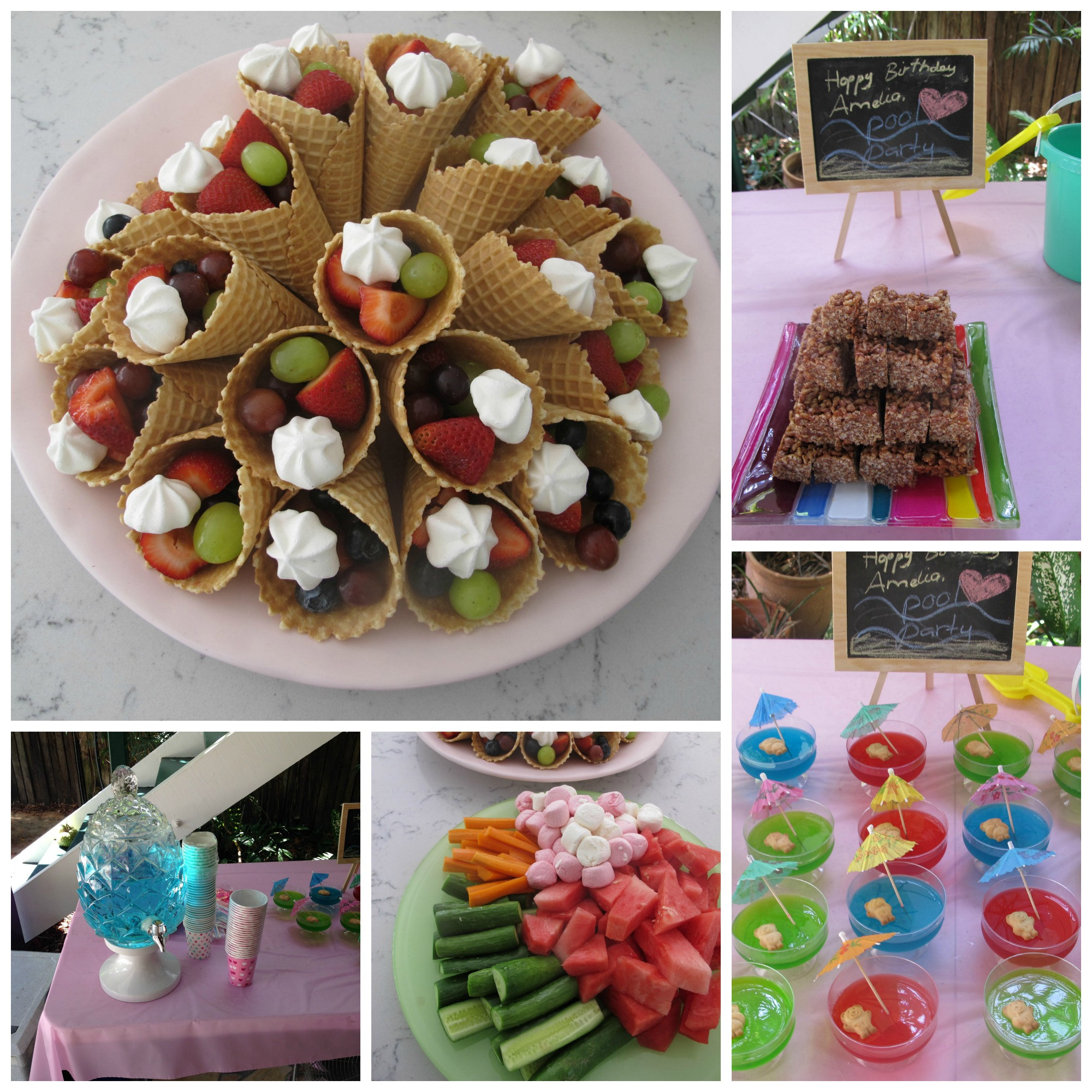 Food Ideas For Pool Party  Birthday Pool Party Tips Tricks and Cake hint have