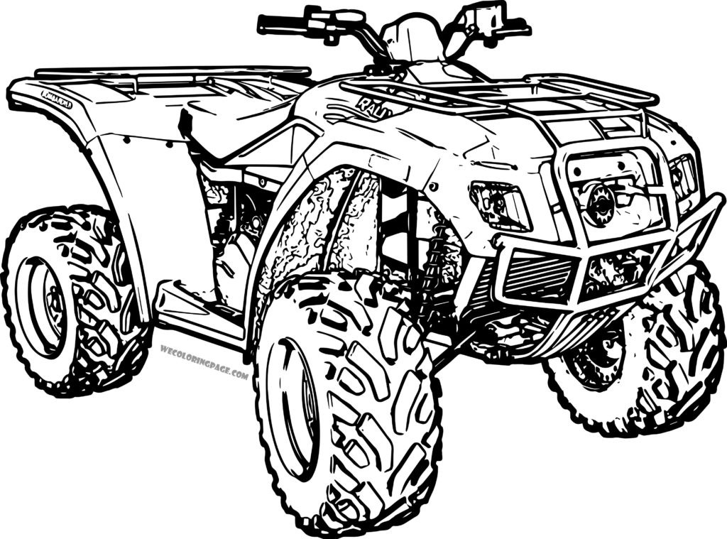 Fourwheeler Coloring Pages For Boys  The top 20 Ideas About Fourwheeler Coloring Pages for Boys