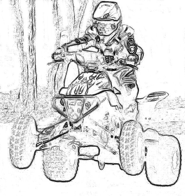 Fourwheeler Coloring Pages For Boys  Kids ATV Coloring Pages 4 Wheeler Coloring Pages Radiokotha