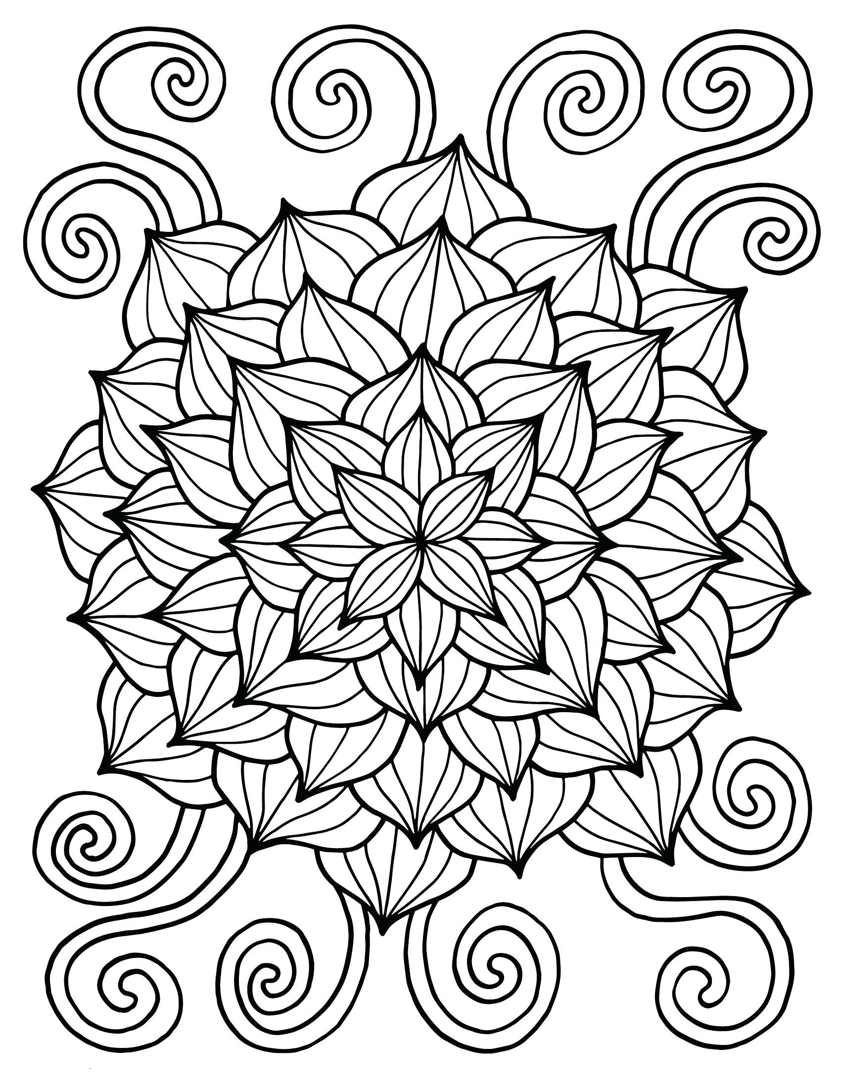 Free Flower Coloring Pages For Kids  Spring Coloring Pages Best Coloring Pages For Kids