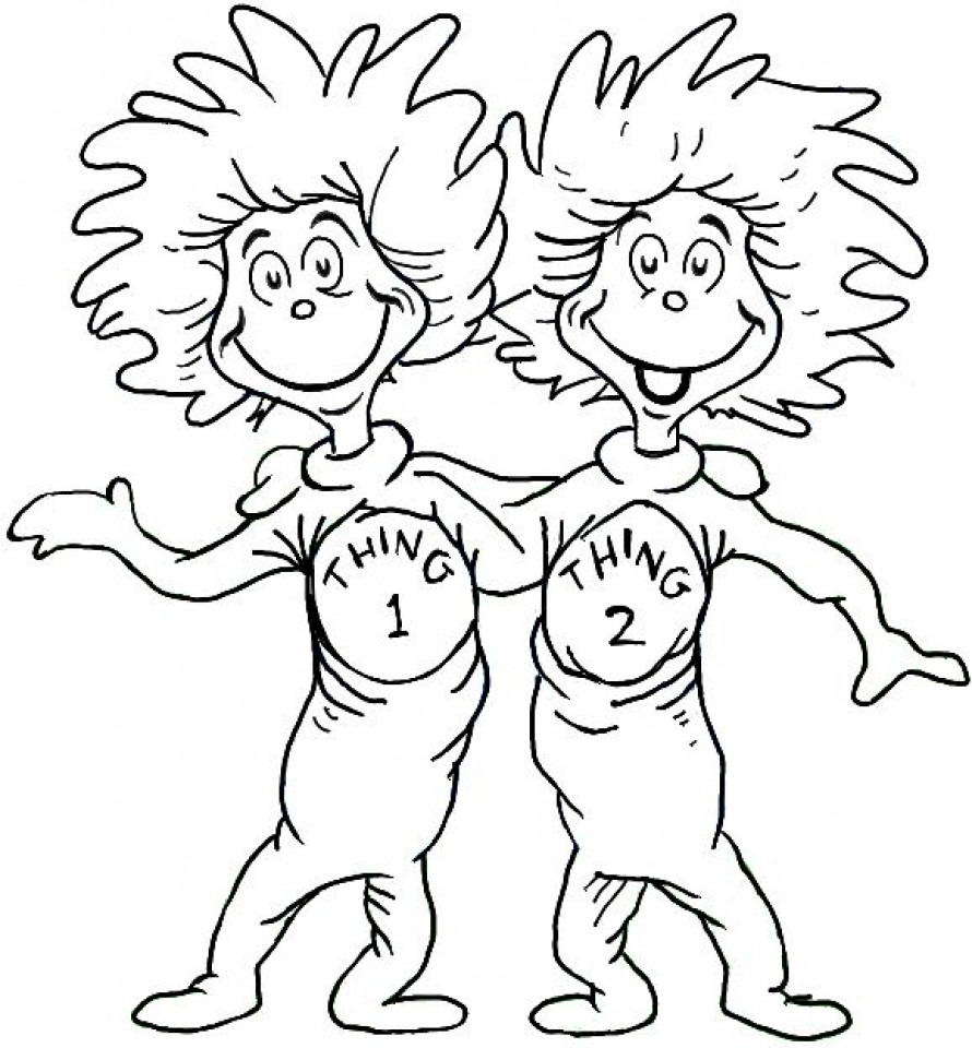 Free Printable Dr.Seuss Coloring Pages  20 Free Printable Dr Seuss Coloring Pages
