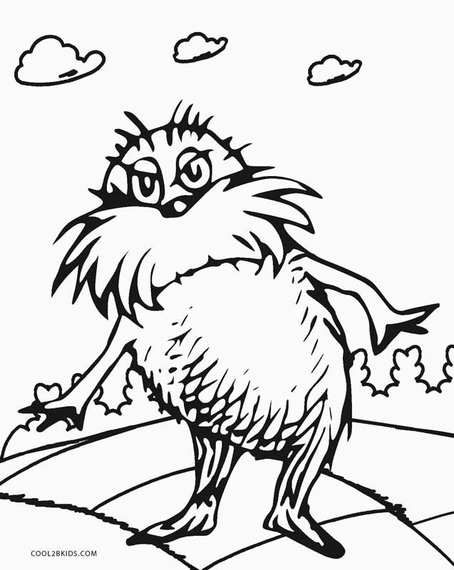 Free Printable Dr.Seuss Coloring Pages  Free Printable Dr Seuss Coloring Pages For Kids