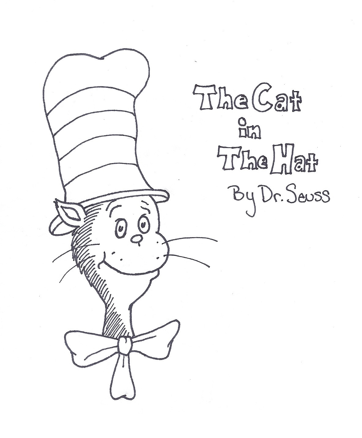 Free Printable Dr.Seuss Coloring Pages  Dr Seuss Printable Coloring Pages