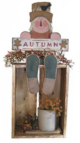Free Wood Craft Patterns  free primitive scarecrow patterns for wood