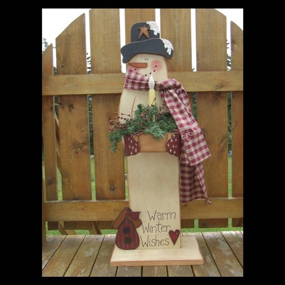 Free Wood Craft Patterns  WOODEN SNOWMEN PATTERNS – Browse Patterns