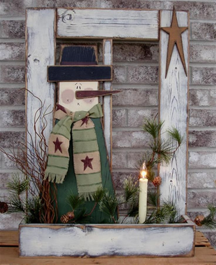 Free Wood Craft Patterns  Bing Primitive Wood Crafts Holiday