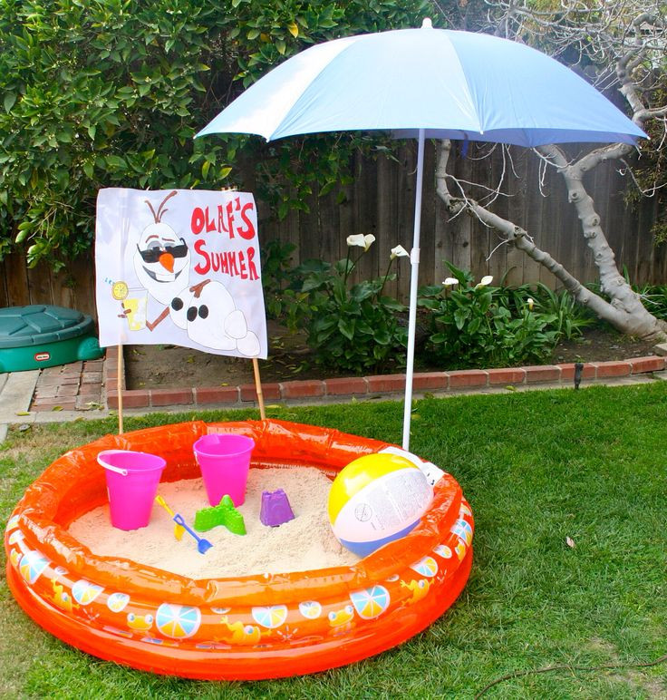 """Frozen Birthday Party Ideas For Summer  24 best images about Party Frozen """" in Summer"""" on"""