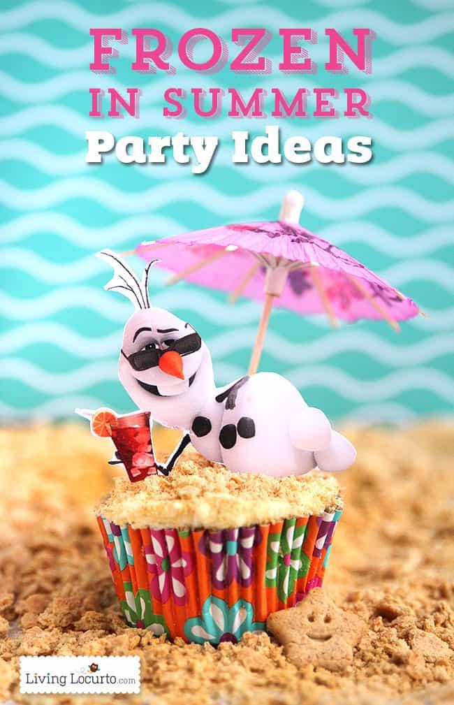 Frozen Birthday Party Ideas For Summer  50 Fun Birthday Party Ideas Free Party Printables