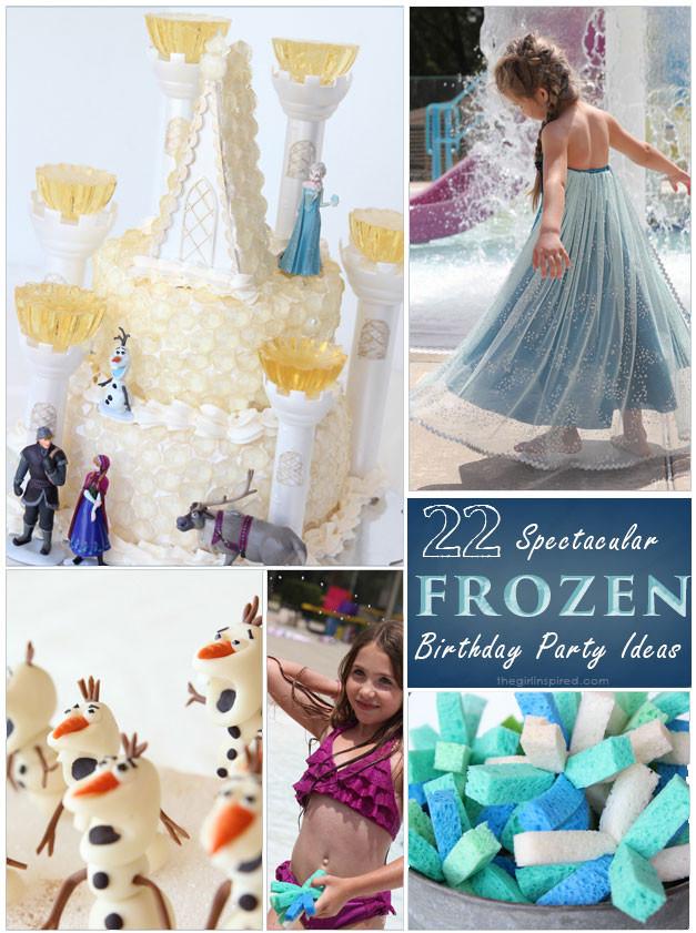Frozen Birthday Party Ideas For Summer  22 Spectacular FROZEN Birthday Party Ideas girl Inspired