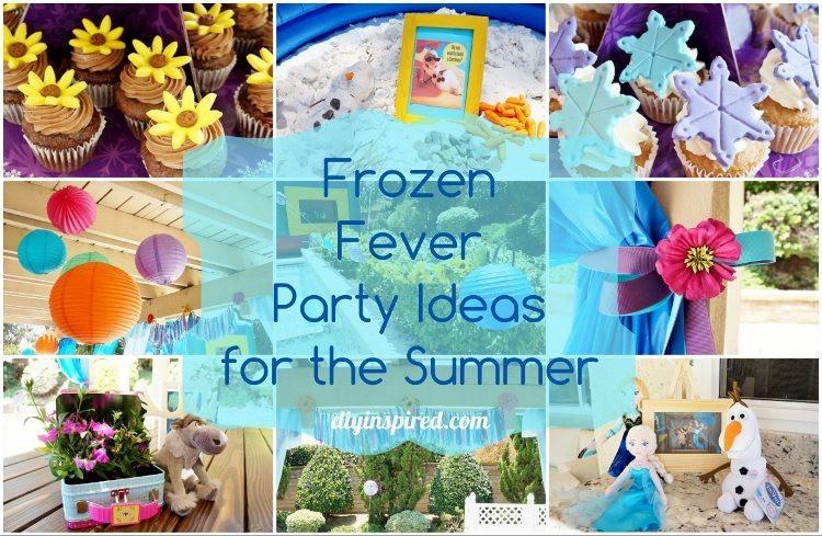 Frozen Birthday Party Ideas For Summer  Frozen Fever Birthday Party for the Summer DIY Inspired