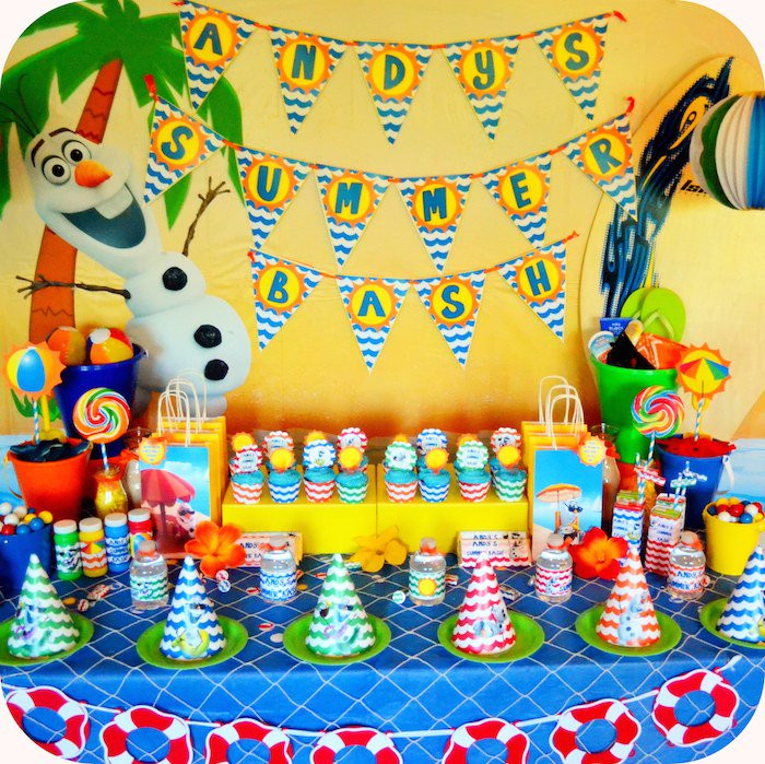 Frozen Birthday Party Ideas For Summer  How to Throw a Frozen In Summer Birthday Party Momtastic