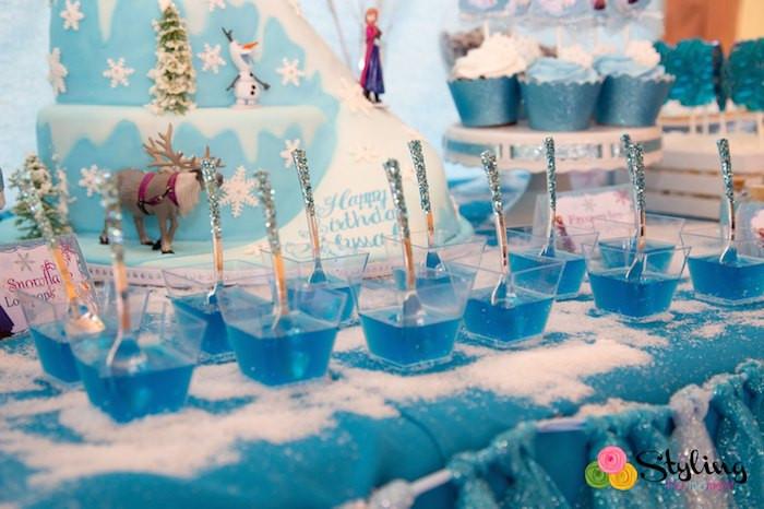 Frozen Birthday Party Ideas For Summer  Kara s Party Ideas Frozen Themed Snowball In Summer