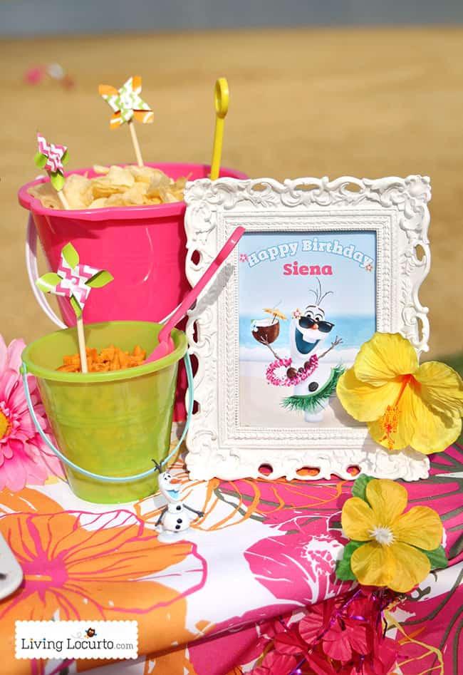 Frozen Birthday Party Ideas For Summer  Frozen In Summer Birthday Party Ideas