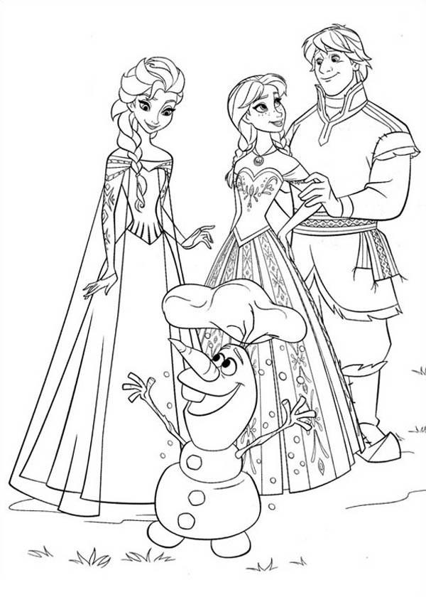 Frozen Coloring Books For Kids  Disegni da colorare di Frozen Giochi di Frozen