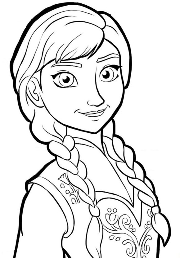 Frozen Coloring Books For Kids  Free Printable Frozen Coloring Pages for Kids Best