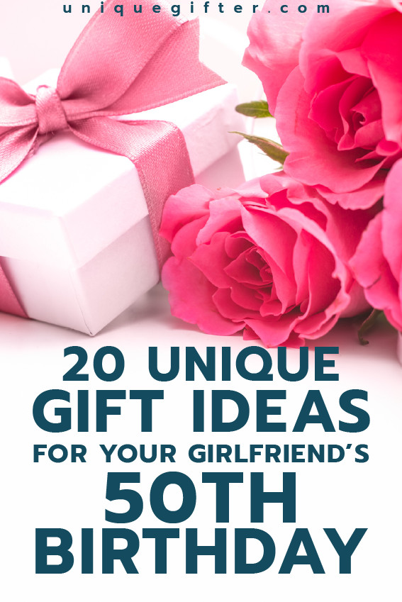 Fun Gift Ideas For Girlfriends  Gift Ideas for your Girlfriend s 50th Birthday