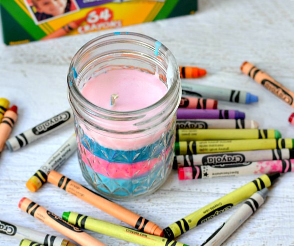 Fun Things To Make With Kids  14 Things to Make with Crayons Moms and Crafters