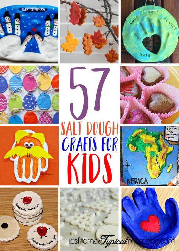 Fun Things To Make With Kids  57 Fun Things to Make with Salt Dough for Kids Tips from