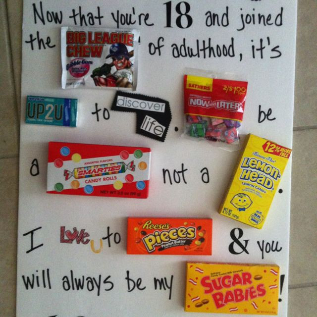 Funny 18Th Birthday Gifts  25 best 18th Birthday Gift Ideas on Pinterest