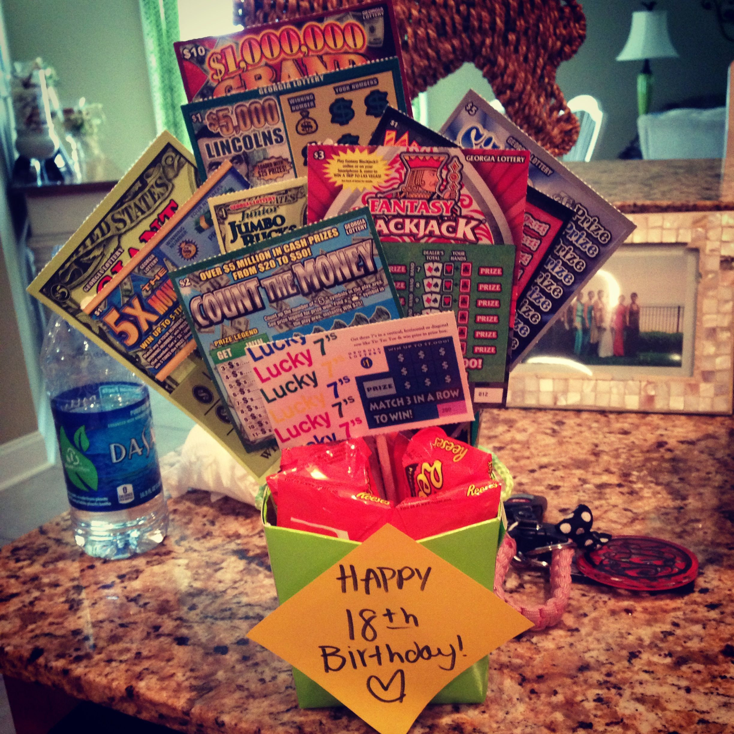 Funny 18Th Birthday Gifts  18th birthday t scratchoffs Gifts