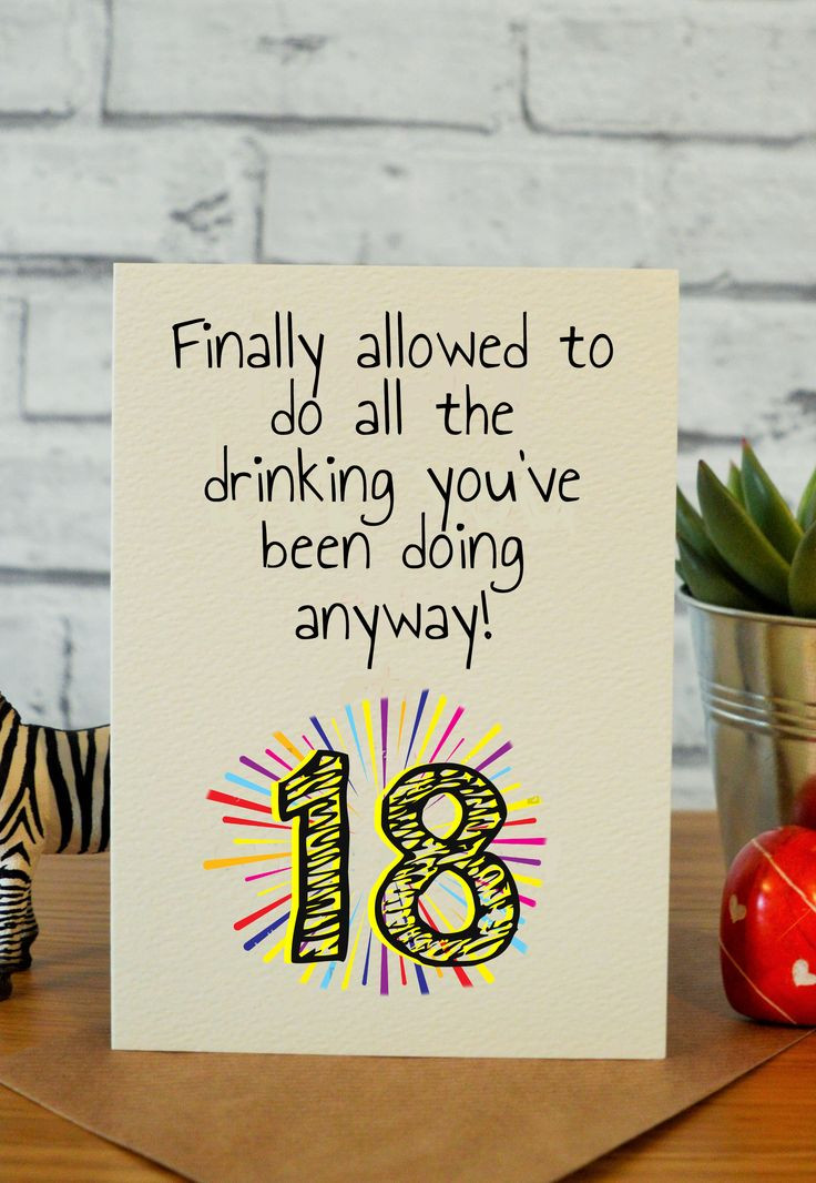 Funny 18Th Birthday Gifts  25 unique Funny birthday cards ideas on Pinterest