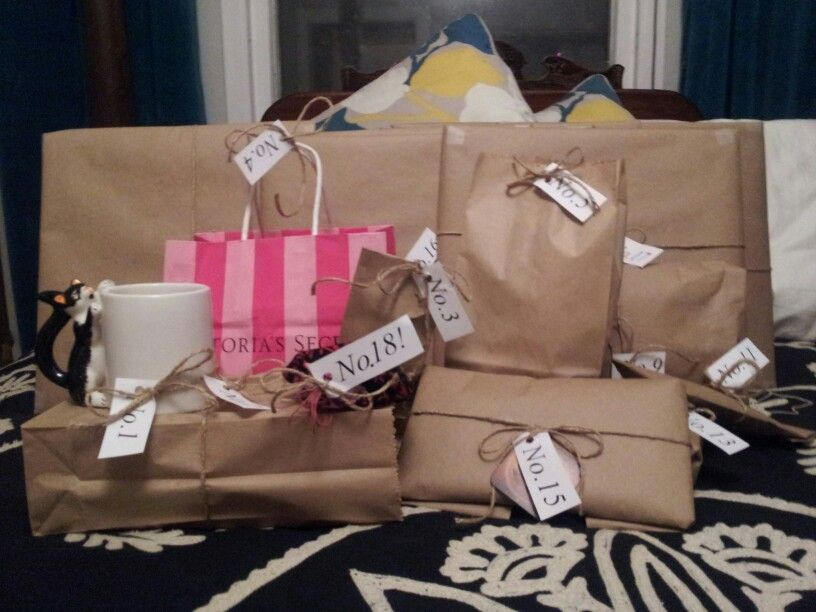 Funny 18Th Birthday Gifts  18 presents for 18th Birthday Great idea some big some