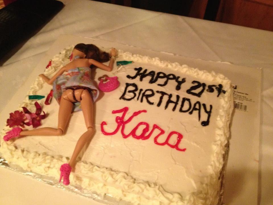 Funny 21St Birthday Cake  13 Brutally Honest Cakes