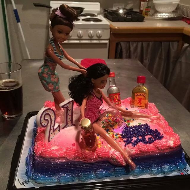 Funny 21St Birthday Cake  My friend s 21st birthday cake funny