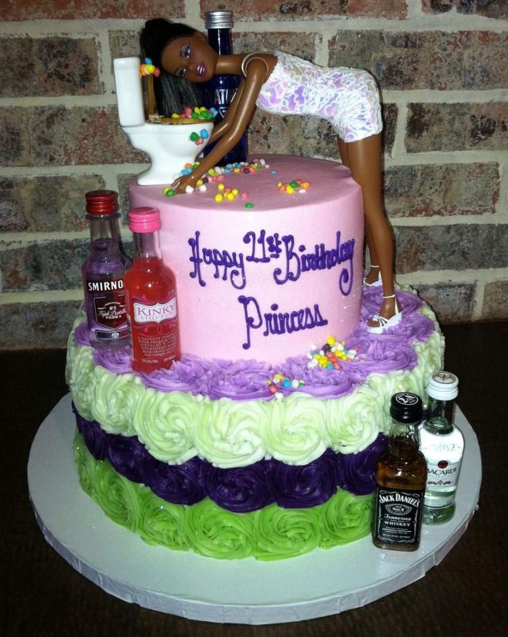Funny 21St Birthday Cake  Lol funny 21st bday cake Cakes