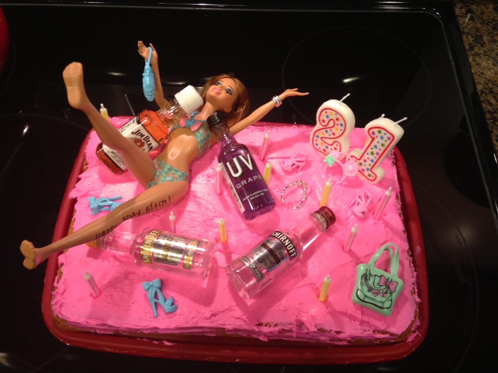 Funny 21St Birthday Cake  94 Babies It s Finally Our Time My Timeline To 21