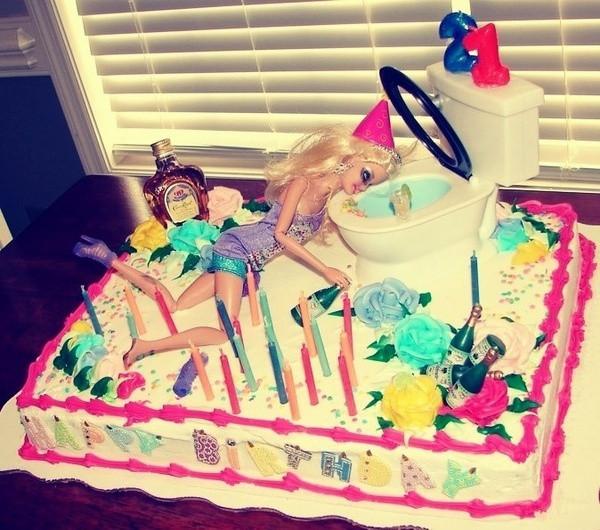 Funny 21St Birthday Cake  21st Birthday cake o funny random