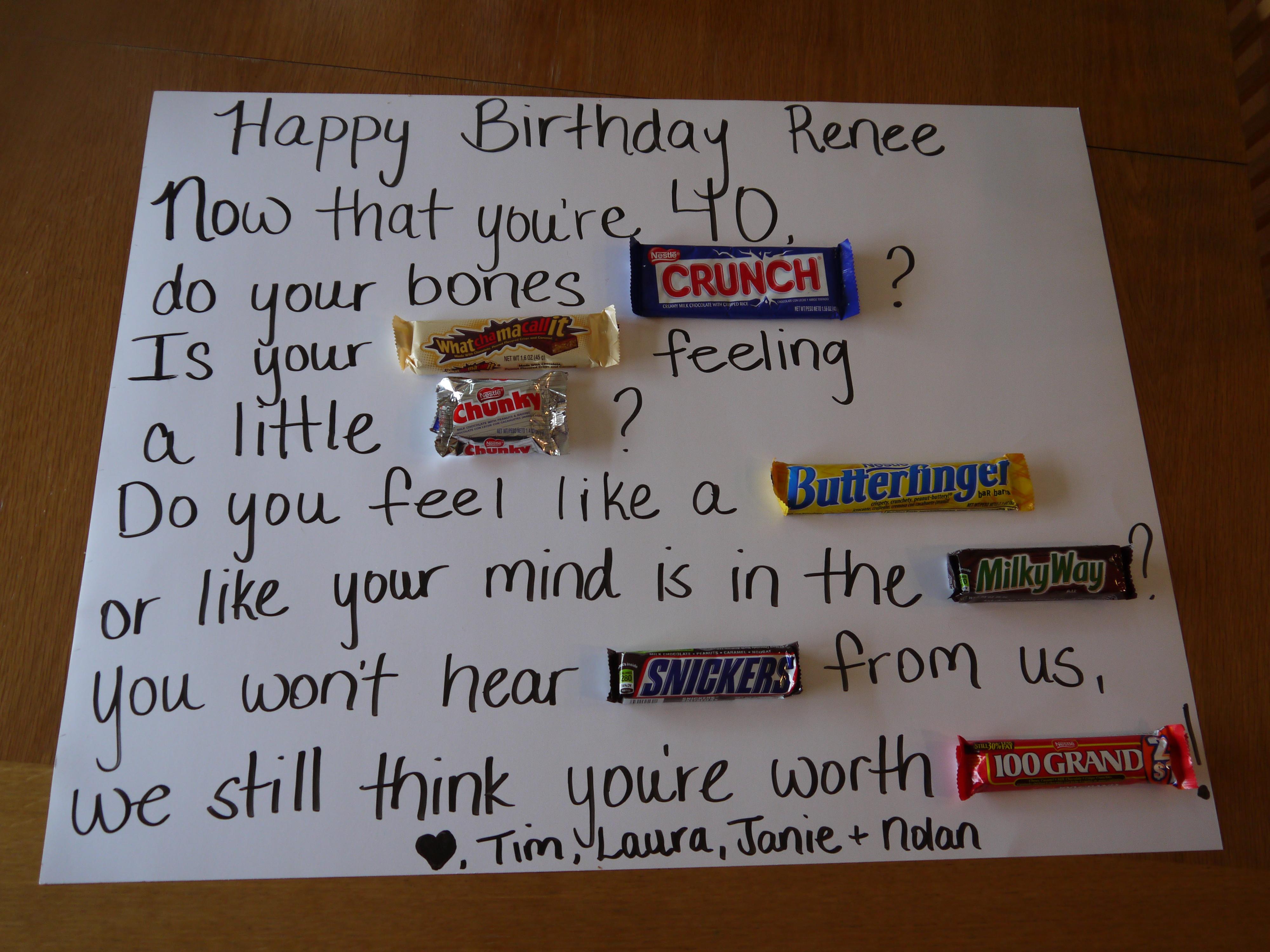 Funny Birthday Gifts For Men  40th Birthday Ideas