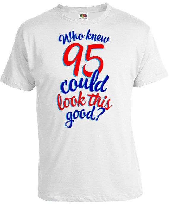 Funny Birthday Gifts For Men  95th Birthday Gift For Men & Women Thanks for stopping by
