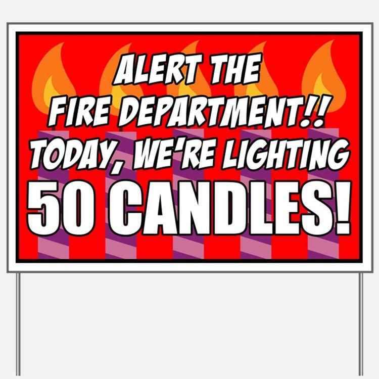 Funny Birthday Signs  Funny 50Th Birthday Funny 50th Birthday Yard Signs